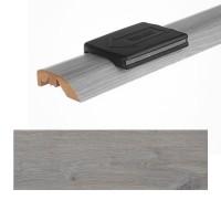 Seuil 3 en 1 chêne gris mat épaisseur 10/14mm longueur 166cm