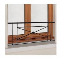 Balcon Zenith avec main courante fer 40x170cm