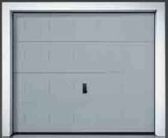 Porte garage metal g60 ellipse 2125x2400mm sectionnelle for Porte de garage sectionnelle 2125 x 2400