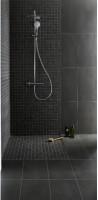 Carrelage UNIK mosaïque gris sur trame 30x30cm