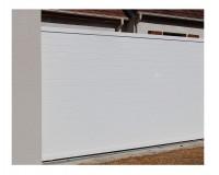 Portail NAPOLI coulissant blanc sans accessoire droite 160x350cm