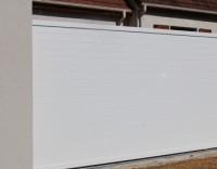 Portail NAPOLI blanc gauche sans accessoires 4,4x160x350cm