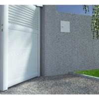 Portail Dolomite gris ajouré expo 155x300cm