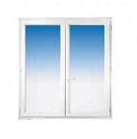 Fenêtre CLASSIC HIT PVC blanc 145x120cm