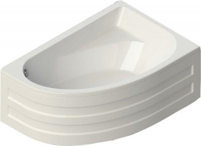 Baignoire Asymetrique Verseau Droite Acrylique Blanc 3 150x100cm