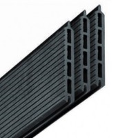 Lame de terrasse composite gris 21mm 15x173cm par 3 pièces UNIVERSO BOIS