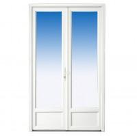 Porte-fenêtre CLASSIC hit PVC 225x120cm avec accessoires