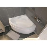 Tablier pour baignoire d'angle VERSEAU blanc 3 135x135cm