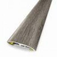 Barre de seuil 5 en 1 chêne raboté gris longueur 2.15m