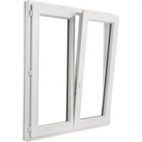 Fenêtre CLASSIC HIT PVC oscillo-battante 125x100cm