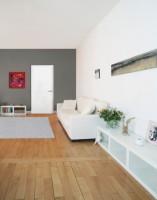 Bloc-porte post isolant villa PREMATHERM prépeint 830mm poussant droite huisserie Créaconfort 67x57 recouvrement 3 points auto climat B