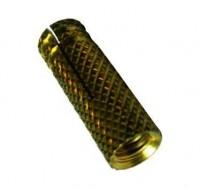 Cheville laiton 6mm boîte de 100