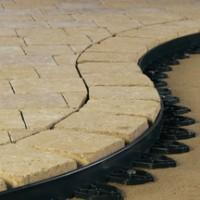 Ancrage bordure PVC pour dalle et pavé 25cm (8) TECHNISEAL