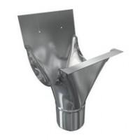 Naissance agrafable pour gouttière lyonnaise zinc dév.333mm diamètre 80mm PROFIMO