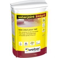 Mortier de jointoiement Weber.joint intégral gris granit E10 5kg WEBER