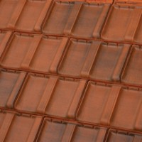 Tuile terre cuite Résidence 1RS brun rustique TERREAL