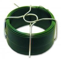 Fil acier plastifié FILPACK vert diamètre 1.4mm longueur 30m CHAPUIS