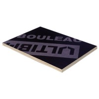 Panneau contreplaqué bouleau filmé extérieur collage 1250x2500mm épaisseur 15mm ULTIBAT