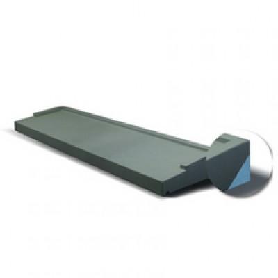 Appui de fenêtre gris 350x1500mm BIP