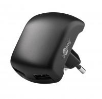 Chargeur secteur double USB 2.1A