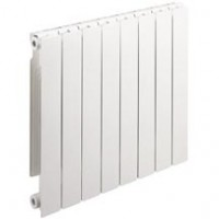 Radiateur aluminium STREET 80 horizontale 873 12 éléments 1728w DECORAL