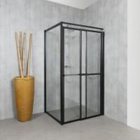 Paroi de douche 3000 carré verre transparent