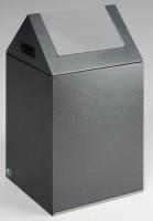 Panier tri-sélectif poubelle gris (09) longueur 100cm