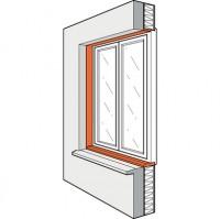 Alèse PVC épaisseur 25mm (x7602) 09 longueur 138cm