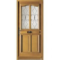 Porte SAUMUR chêne (12) sans bar 215x90cm poussant gauche