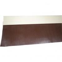 Bavette aluminium marron 1011 9x6,5x250cm