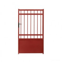 Portillon Arpeggio décor rouge 3004 largeur 300cm (EXPO)
