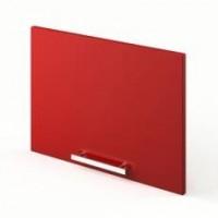 Meuble sur hotte EASY rouge carmin largeur 60cm