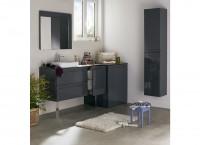 Élément INFINY graphite 1 porte/2 étagère extra largeur 30cm D