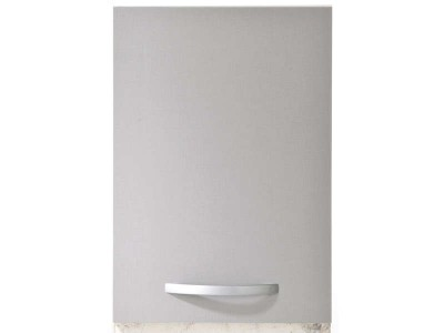 Meuble haut 1 porte easy gris anthracite largeur 40cm