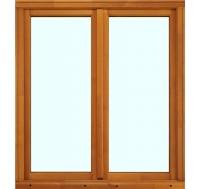 Cadre seul (4x2) pin lasure fenêtre 2 vantaux 60x90cm