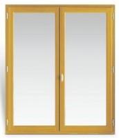 Cadre seul (2x2) pin lasuré châssis 60x40cm