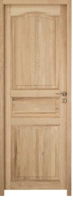 Bloc-porte chêne MONTAGNAC brut huisserie 72 204x73cm droite