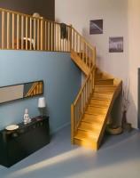 Quart tournant pour escalier opera 180 tauari hauteur 285cm gauche