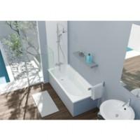 Baignoire rectangulaire CONCERTO 3 acrylique blanc 180x80cm