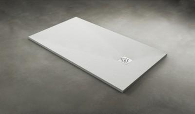 Receveur DAILY'O béton blanc 160x80cm