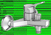 Mitigeur BRIVE bain douche mural avec raccords