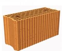 Brique terre cuite roulée isolante R20 Porotherm Wienerberger - rouge 500x200x249mm R = 0,76 m²K/W