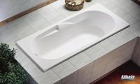 Baignoire VOLTA  avec pieds blanc 170x75cm