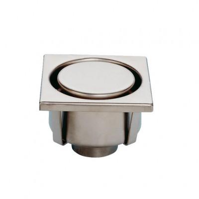 Siphon inox 150x150mm diamètre 63mm LIMATEC