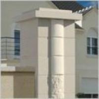 Élément pilier SIGNATURE ton pierre 39x39cm WESER