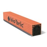 Coffre de volet roulant CVR tunnel monobloc épaisseur 28cm 240cm BIO'BRIC