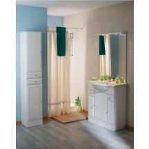 sous vasque tolede 2 80 3 portes 2 tiroirs marb blanc rennes 35920 d stockage habitat. Black Bedroom Furniture Sets. Home Design Ideas
