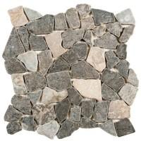 Carrelage marbre PALLADIANE mix gris 30x30cm