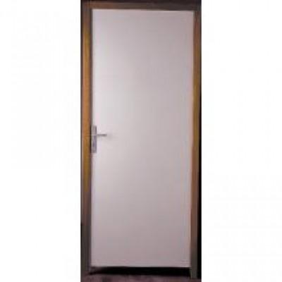 bloc porte coupe feu 1 2 heure pr peint poussant droit 93x204cm jeld wen seclin 59113. Black Bedroom Furniture Sets. Home Design Ideas