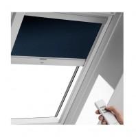 Store occultant pour fenêtre de toit U04, bleu foncé, 134x98cm VELUX